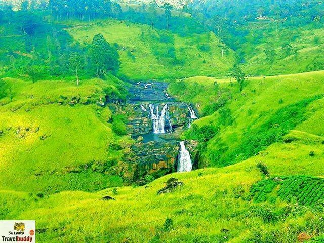 St. Clair Falls, Nuwara Eliya