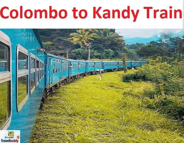 colombo to kandy by train