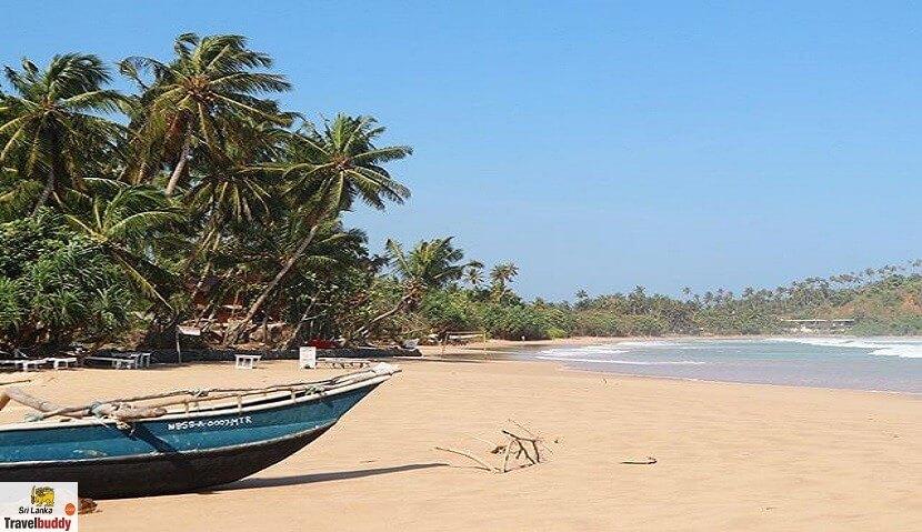 Talalla Beach Fish Boat