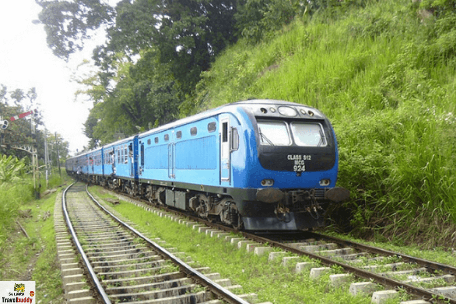 colombo to ella train