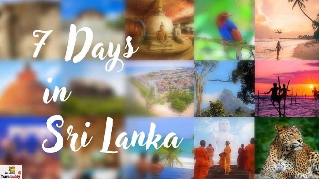 Sri Lanka Itinerary 7 Days